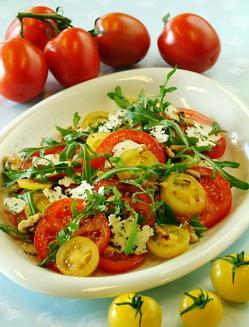 spise mye tomater